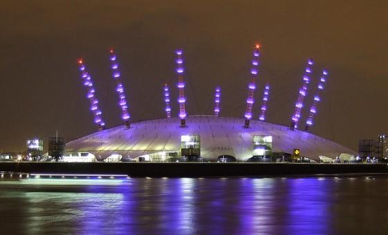 The O2 Arena, Image courtesy of markescapes
