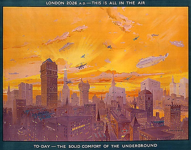 London in 2026 as Envisioned by London Transport in 1926