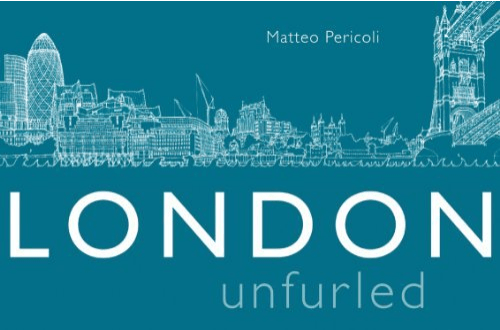 London Books and Maps: London Unfurled by Matteo Reicoli – Amazing Map of the Thames