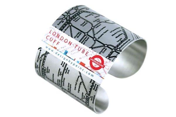 London Tube Cuff Bracelet