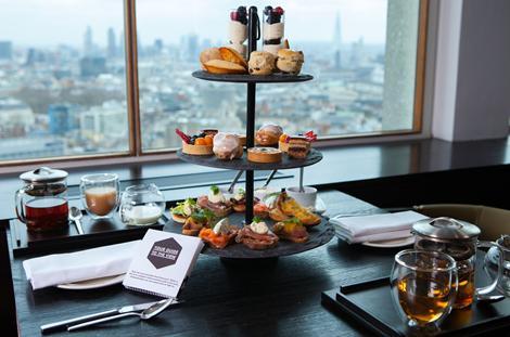 High(est) Tea in London: Paramount Launches High Tea 32 Floors Above Soho