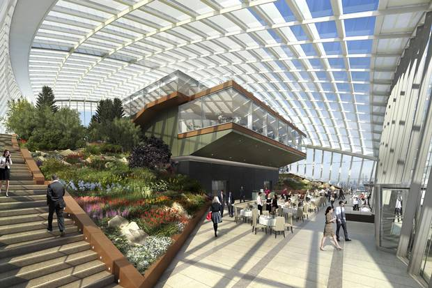 Smog Check History >> First Peek at London's New Sky Garden in the Walkie-Talkie ...