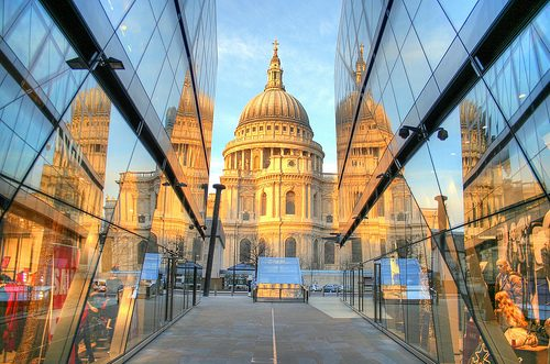 Photo: London. Christmas Day 2011. St Paul's
