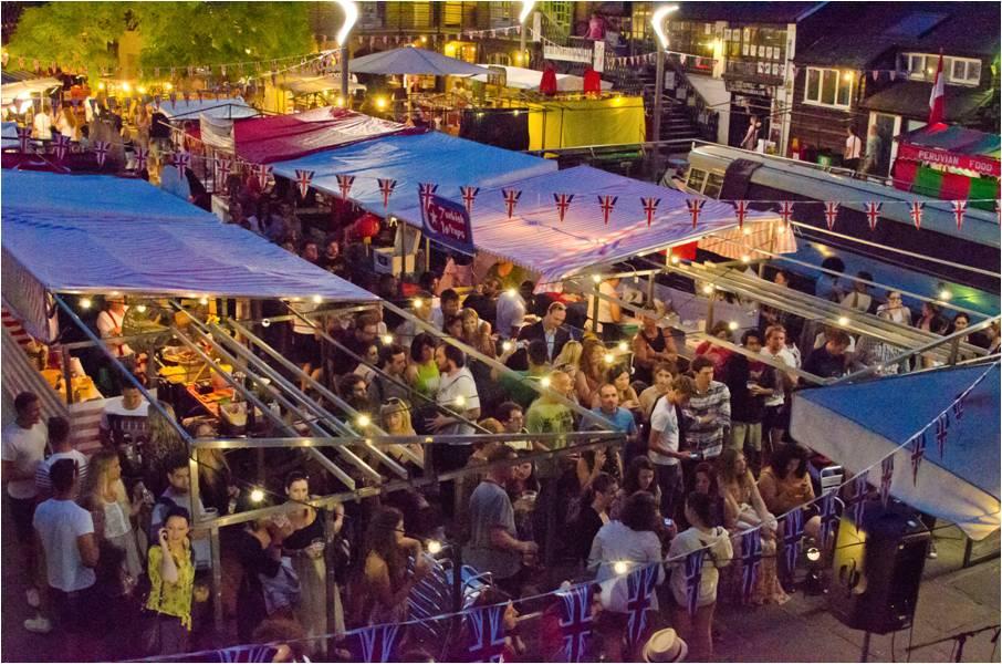 Camden Lock Market Launches Night Markets in August