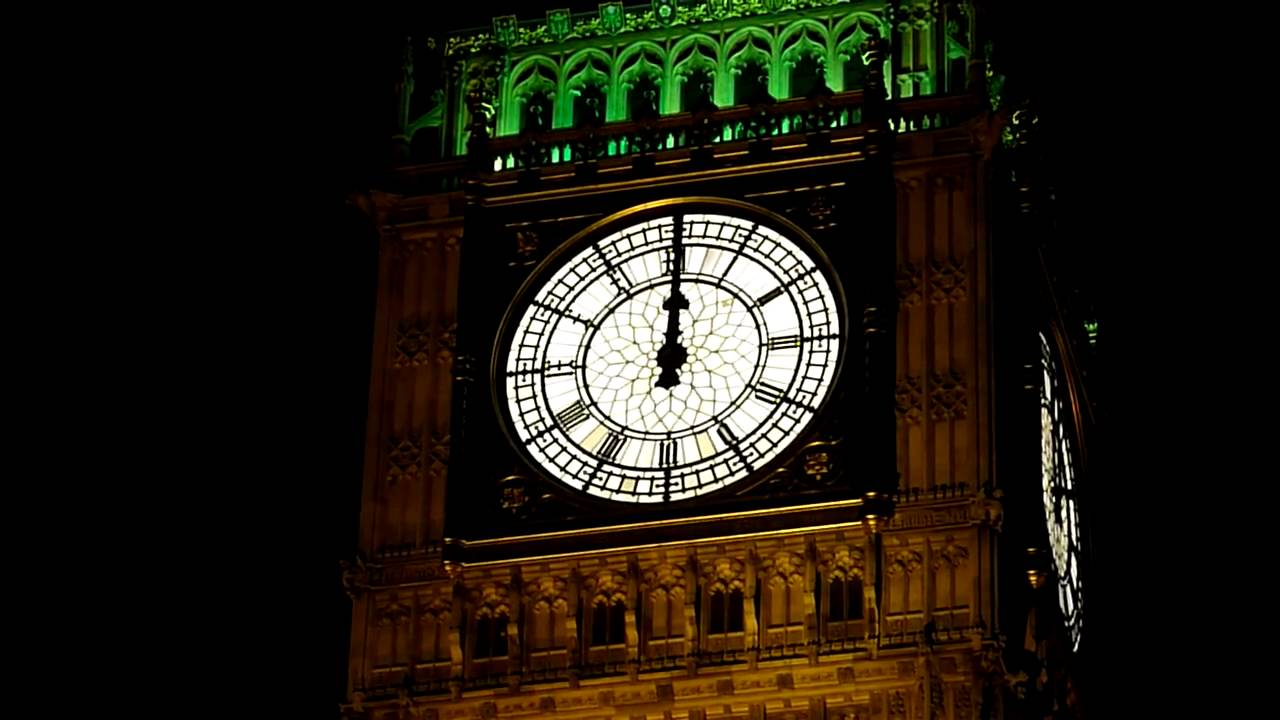 Video: Big Ben Chimes Midnight in Glorious HD