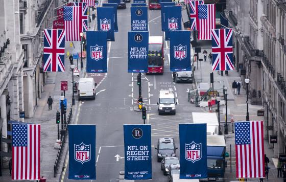 NFL on Regent Street - Flags_6