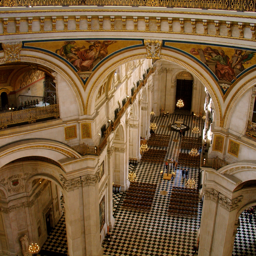 Photo: View of St Paul's from the Whispering Gallery