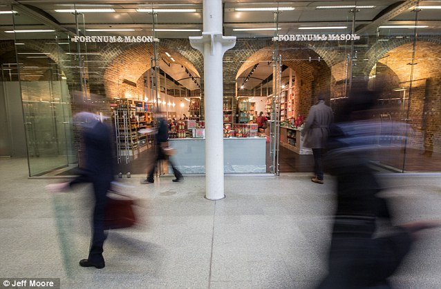Fortnum & Mason Has Opened Its First New Store in 307 Years in St Pancras Station