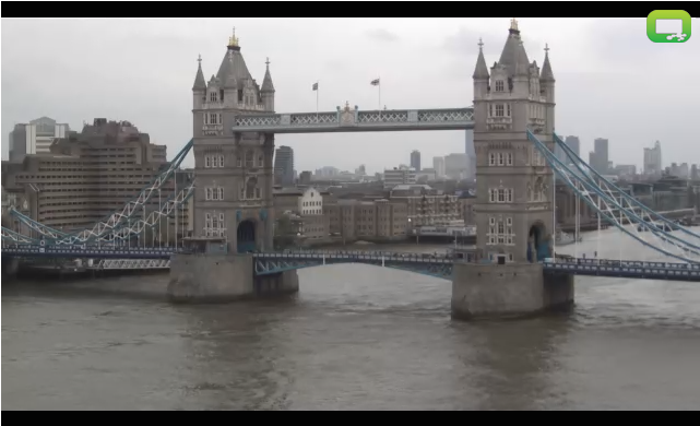 Fancy Visiting London Right Now? Then Check out this LIVE HD Webcam Feed of Tower Bridge