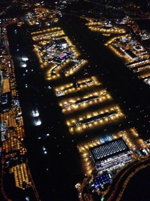 Cool Photo: London's Heathrow Airport at Night as Seen From 6000 Feet