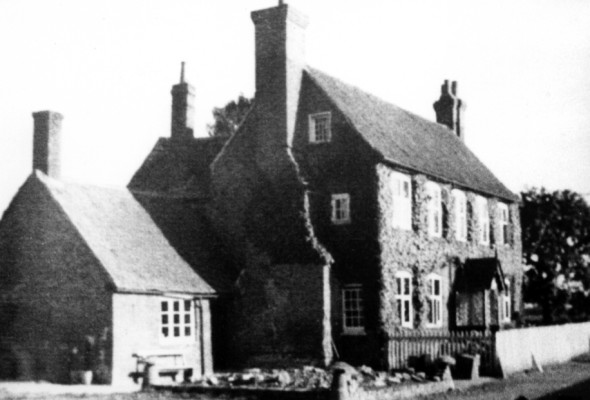 Of the farms, Perry Oaks Farm (above) is an Elizabethan farmhouse, while The Hall is an 18th century farmhouse with sheep, pigs and cattle and many old barns.