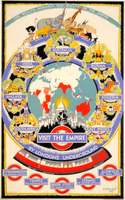 """""""Let's Go to London!"""" – Really Cool Gallery of Vintage Travel Posters Advertising Trips to London"""