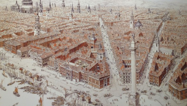 Great London Art: Sir Christopher Wren's Full Vision for a Fire Ravaged London