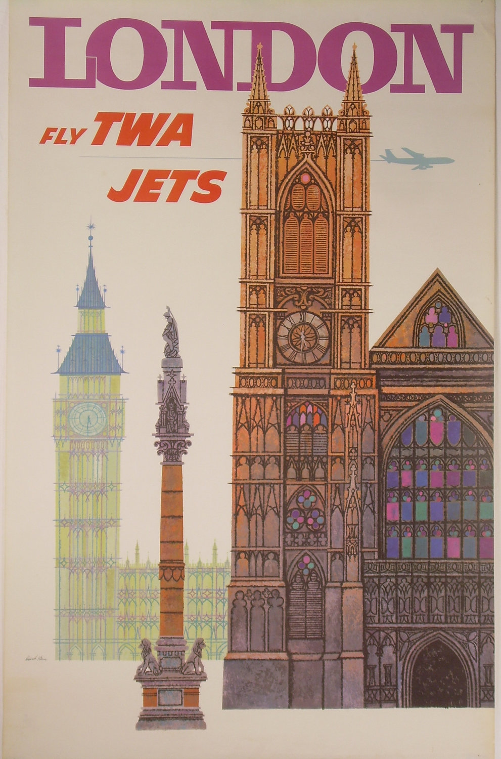 """Let's Go to London!"" - Really Cool Gallery of Vintage ..."