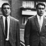 Notorious London gangsters Ronnie and Reggie Kray