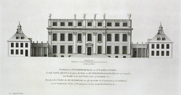 Buckingham House Before Later Additions