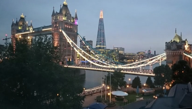 Video: Beautiful Short Timelapse Video of the Sunset over Tower Bridge
