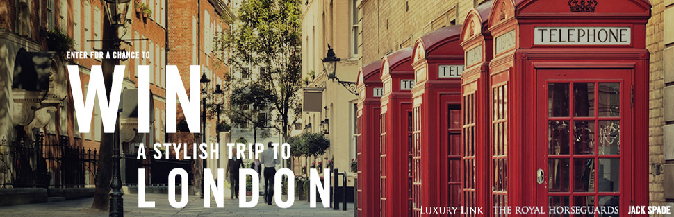 London Alert: Win a Luxury Trip to London from Luxury Link – USA ONLY