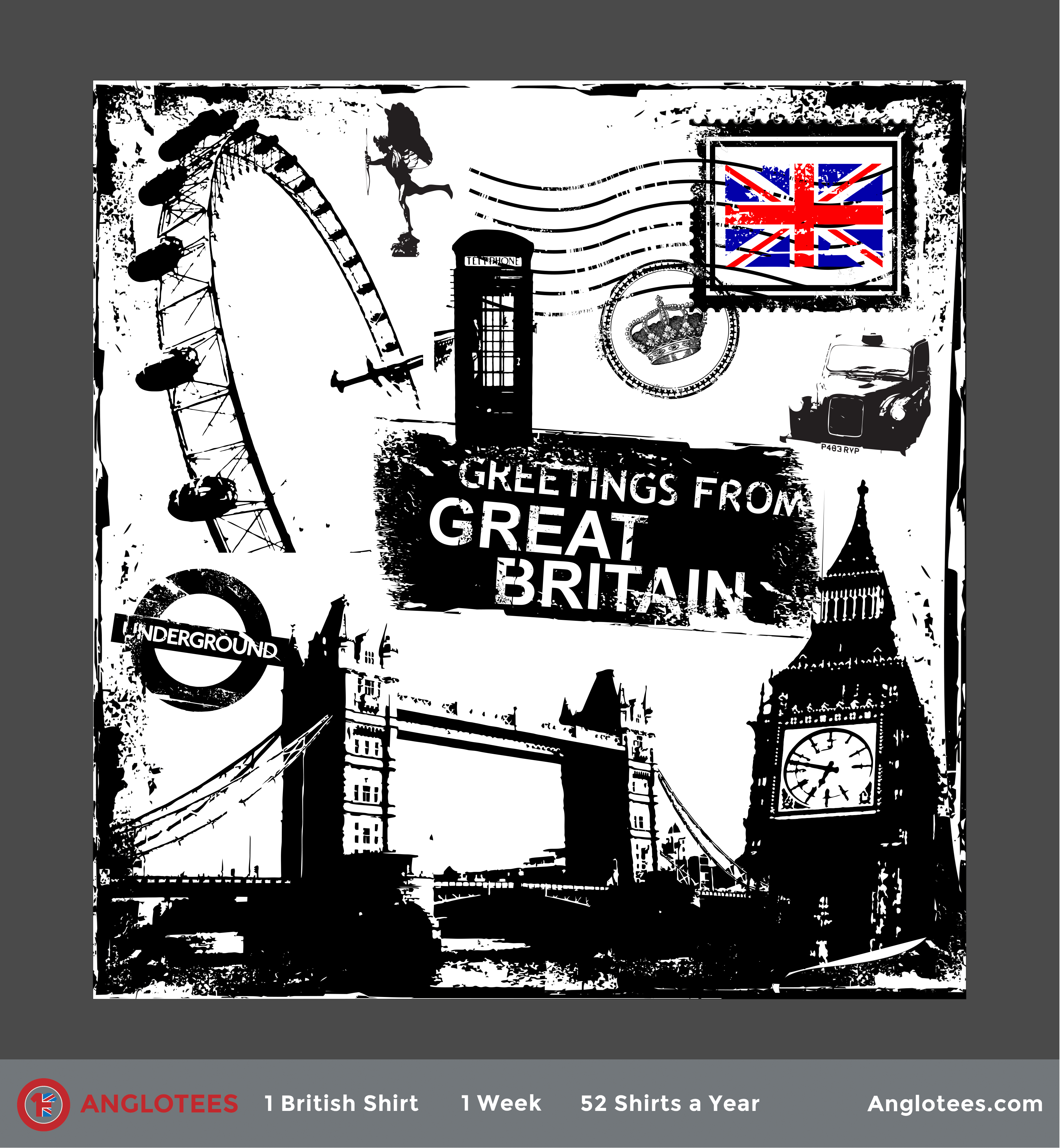 London Alert: New Shirt LIVE! Greetings from Great Britain
