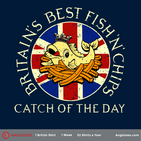 London Alert: New Anglotees Design LIVE – Catch of the Day