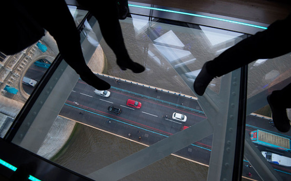 London's Newest Tourist Attraction: London's Tower Bridge Gets a Vertigo Inducing Glass Walkway Above the Thames
