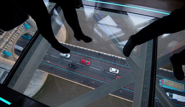 London's Newest Tourist Attraction: London's Tower Bridge Gets a Vertigo Inducing Glass Walkway Above the Thames