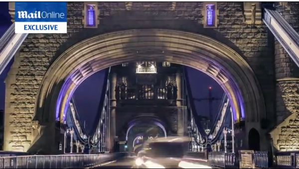 Video: Stunning Timelapse Video of Tower Bridge Shows its True Beauty Over 24 Hours
