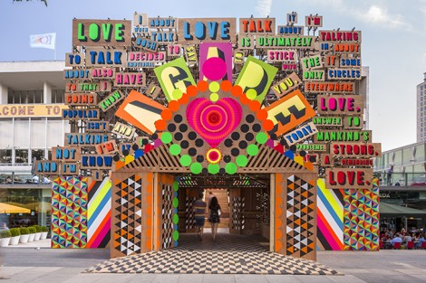 Morag-Myerscough-luke-morgan-photo-gareth-Gardner-supergroup-london-love-temple-of-agape-470x313