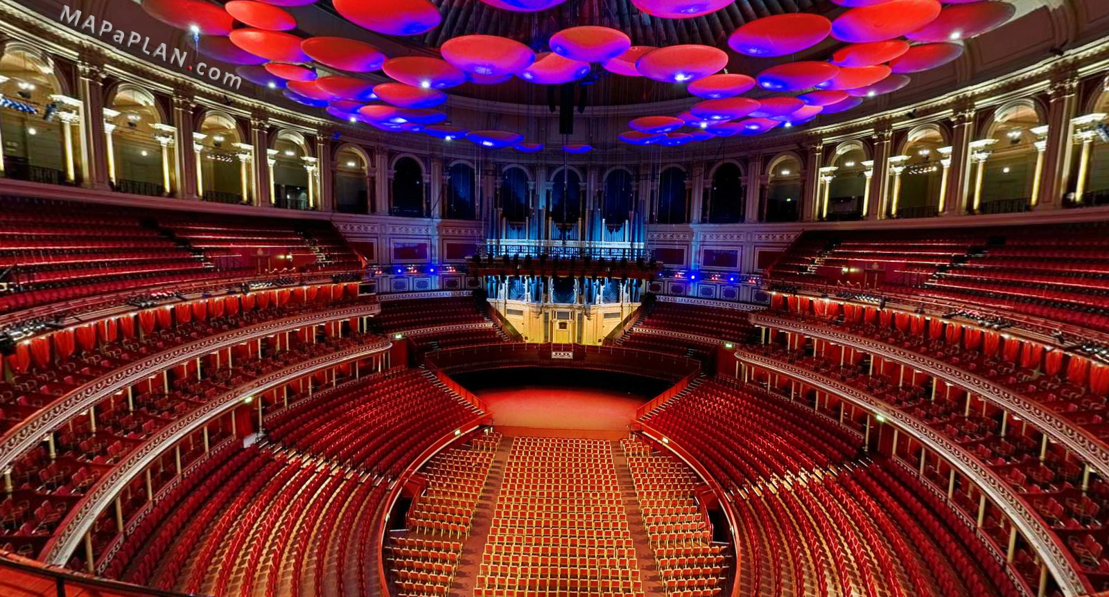 Great london buildings the royal albert hall home of for Door 12 royal albert hall