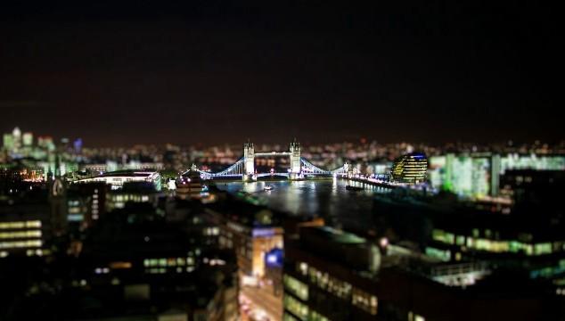 Tiny London: Stunning Video Uses Tilt Shift Effect to Make London Look Like a Model