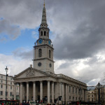 Great London Buildings: St. Martin-in-the-Fields Church in Trafalgar Square
