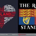 Anglotees Alert: New Designs LIVE – I Love England and The Royal Standard