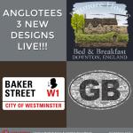 Anglotees Alert: New Designs LIVE – Downton Abbey, Sherlock and British Motors