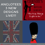 London Alert: New Designs LIVE! New Downton Tribute, Great British Slang and Royal Guard