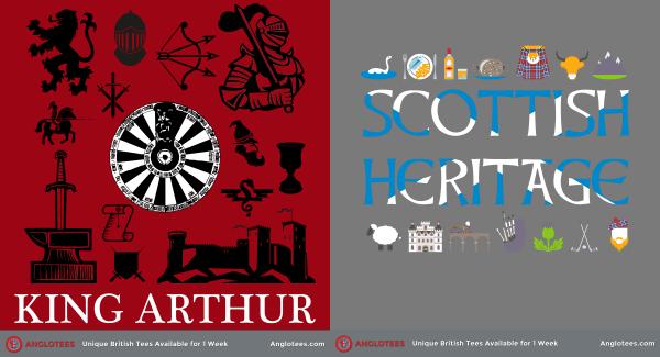 London Alert: New Designs LIVE – King Arthur and Scottish Heritage