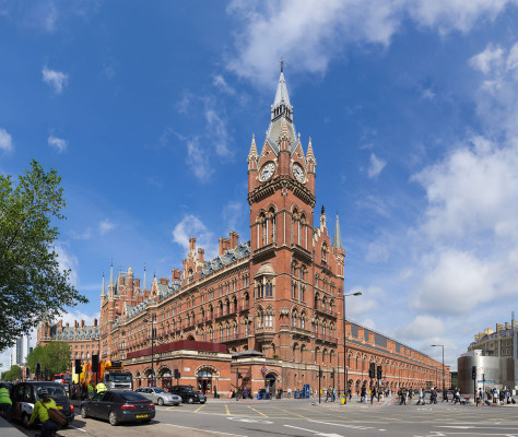 Great London Buildings: St. Pancras International Railway Station – A Victorian Masterpiece Reborn for the 21st Century