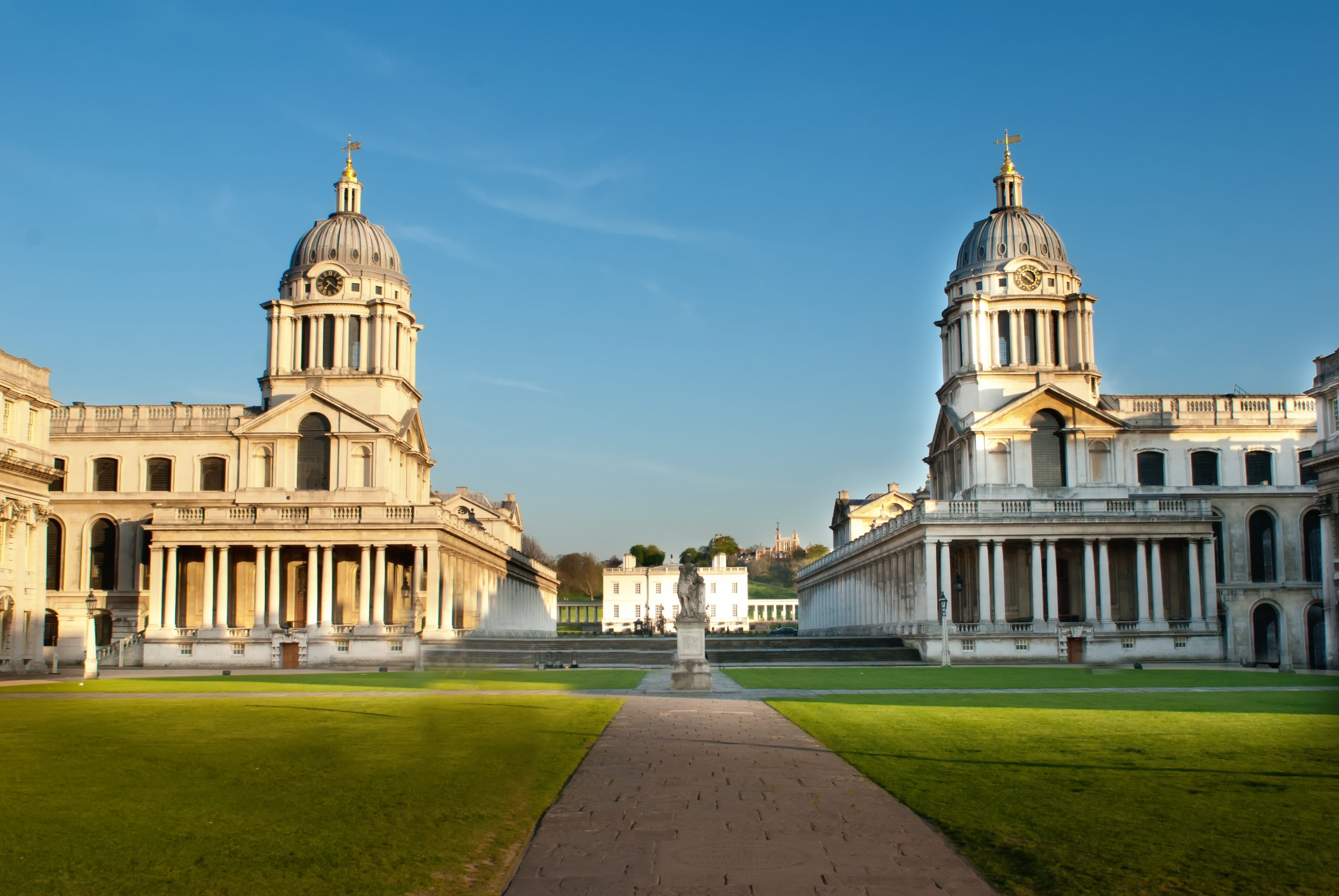 great london buildings   old royal naval college greenwich