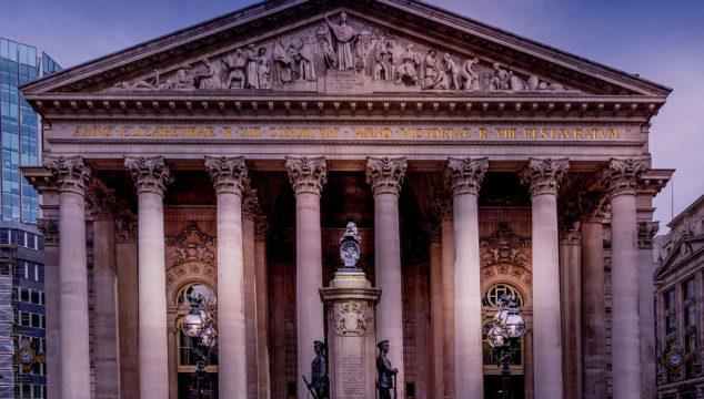 Great London Buildings – The Royal Exchange