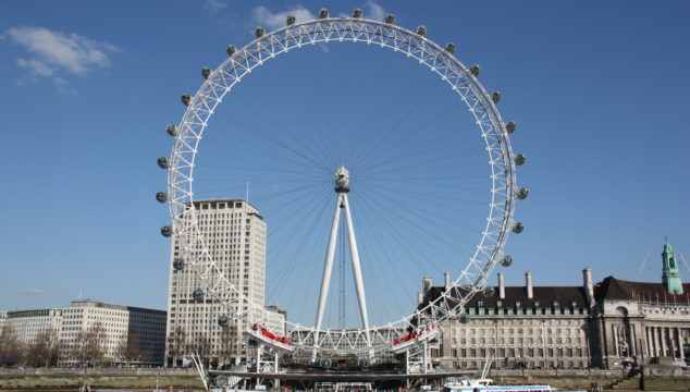 Great London Buildings – The London Eye