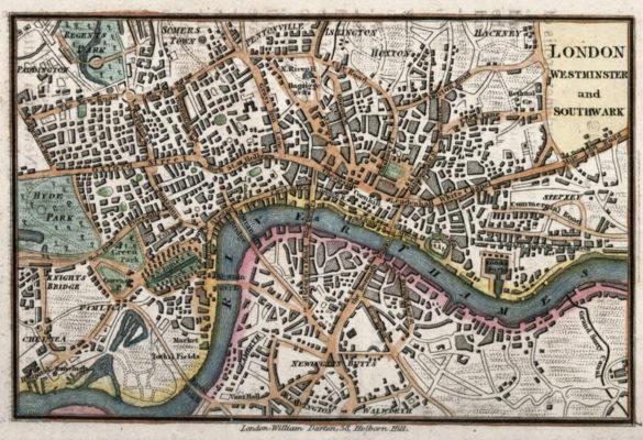 map-of-london-england-circa-1820-by-william-darton-publishing