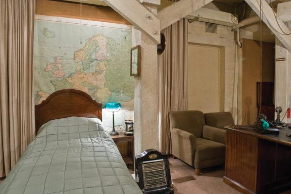 Churchill's bedroom
