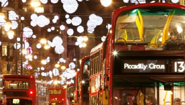 The London Fiver – Five Things You Can Do in London on Christmas Day