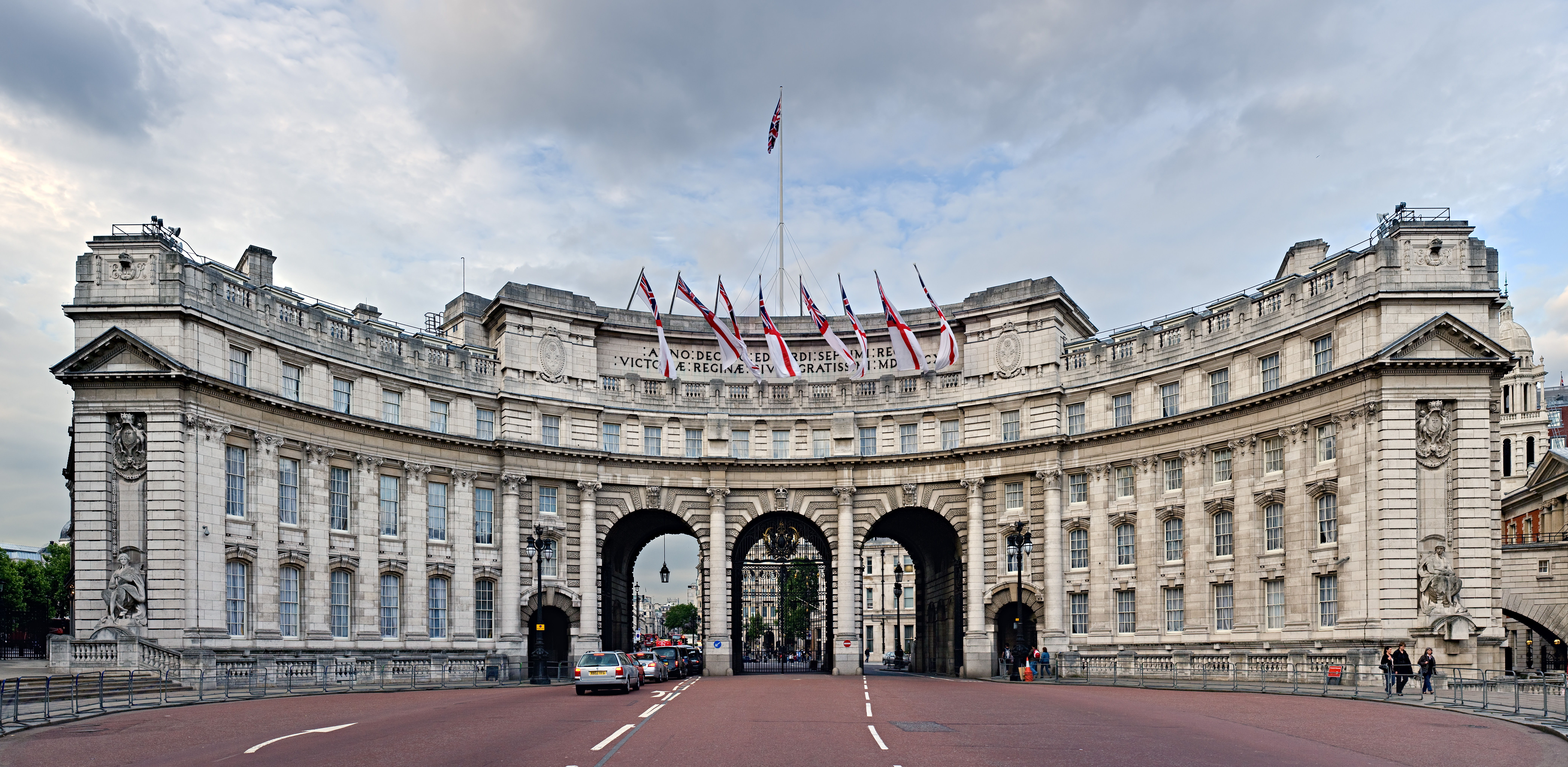 Great London Buildings The Admiralty Arch