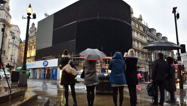 Advert Lights in Piccadilly Circus Shut Off Until Autumn – First Time in Many Years