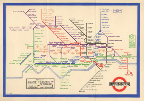 London Icon: A History of Harry Beck's Iconic Tube Map