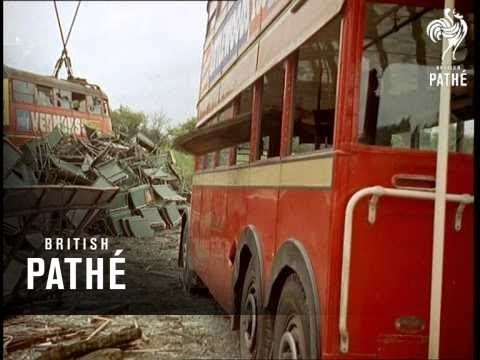 London History: The Place Where Old London Double Decker Buses Went to Die