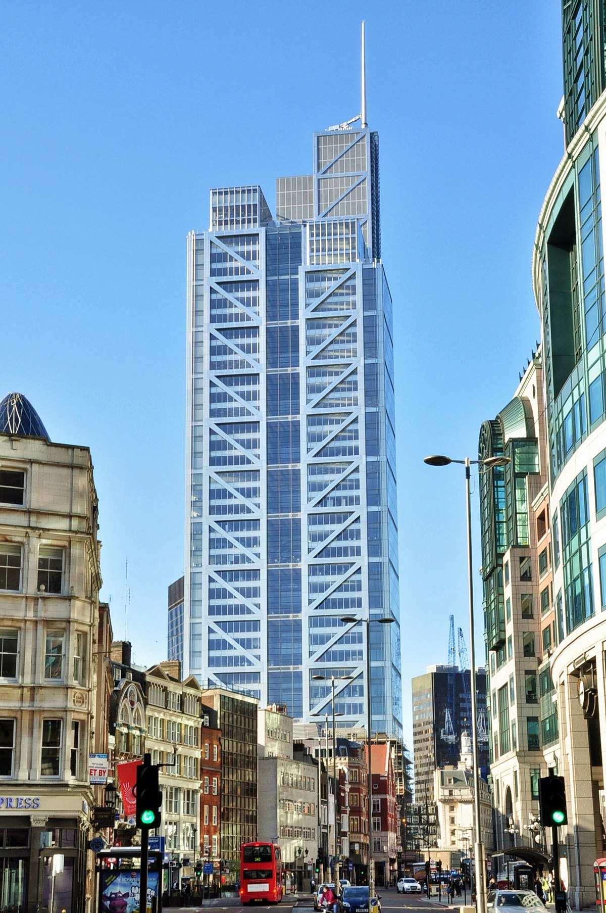 Great London Buildings Heron Tower Londontopia