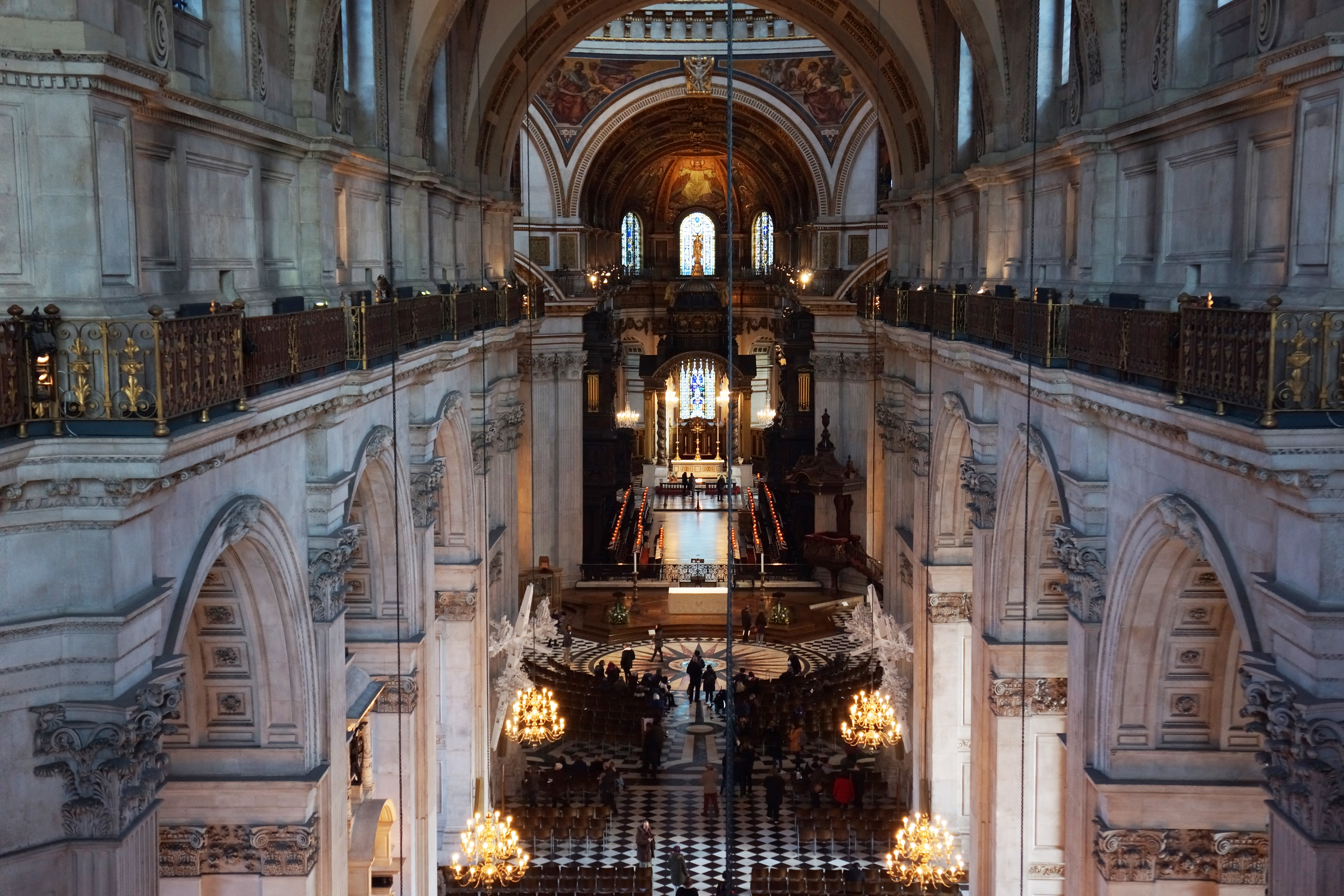 The Triforium Behind Closed Doors At St Pauls Cathedral Londontopia