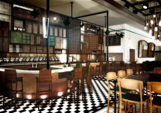 A Peek at Gordon Ramsay's New London Restaurant – Bread Street Kitchen