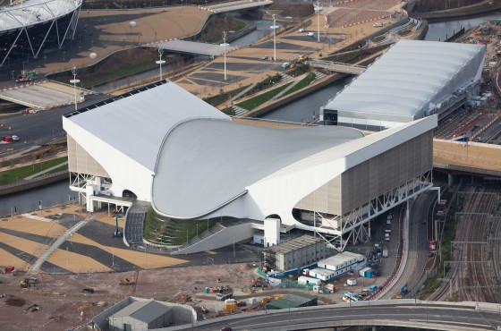 London 2012: Visit Britain Releases New Aerial Shots of the Olympic Area